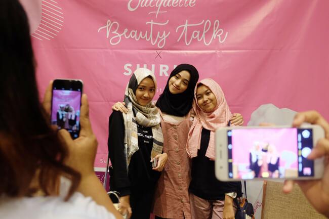 Keseruan Acara Beauty Talk With Shirin Al Athrus Bersama Jacquelle Beauty Journal