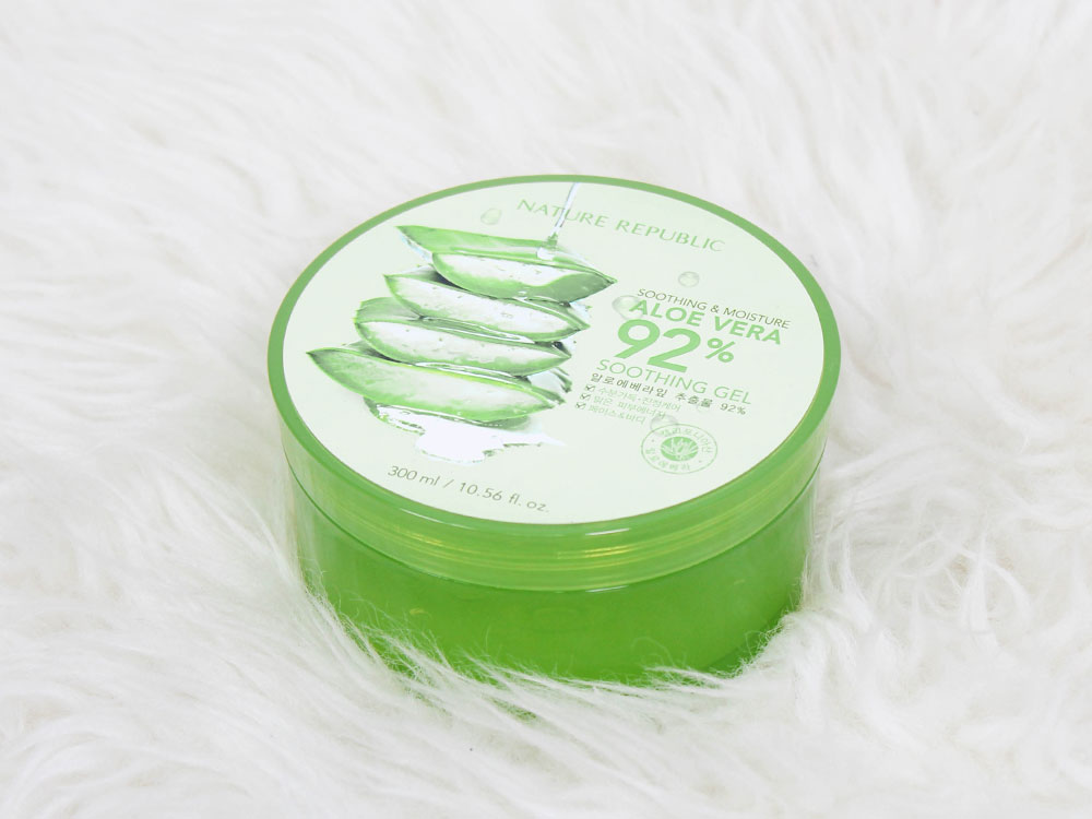 review nature republic soothing