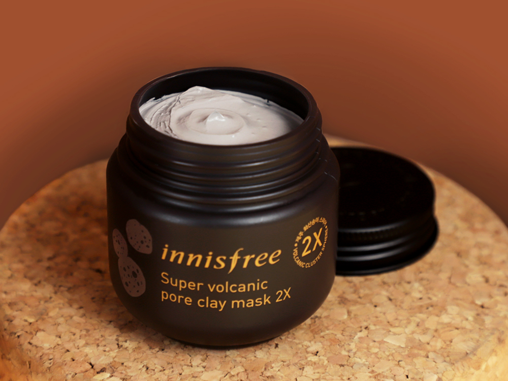 Innisfree Super Volcanic Pore Clay Mask k-beauty