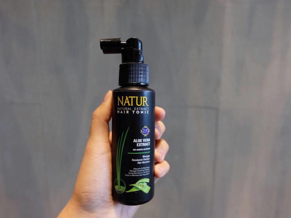 Rambut Tumbuh Lebat dan Kuat dengan Formula Baru Natur Hair Tonic